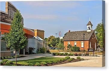 Bgsu Carillon Dining Hall And Educational Memorabilia Center 3250 Canvas Print