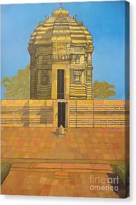 Bhaskareshwar- Shiva Temple Canvas Print