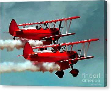 Bi-planes Canvas Print