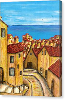 Biagi In Tuscany Canvas Print by Pamela Allegretto