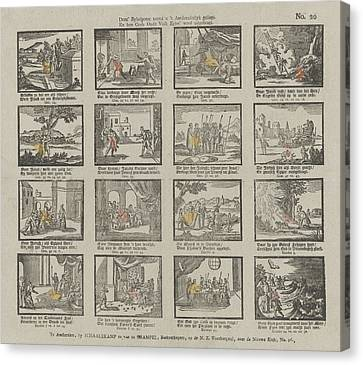 Biblical Print. Deez Bybelprent Toond U T Aardsvaderlyk Canvas Print