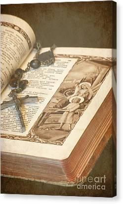 Biblical Canvas Print by Sophie Vigneault