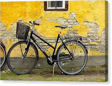 Bicycle Aarhus Denmark Canvas Print