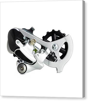 Component Canvas Print - Bicycle Derailleur by Science Photo Library