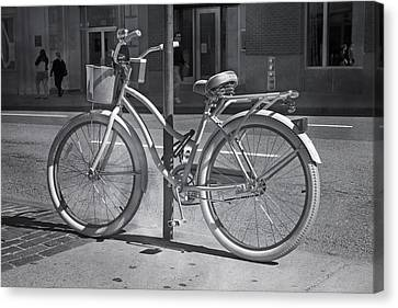 Bicycle Canvas Print by Betsy Knapp