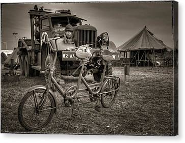 Bicycle Made For Two Canvas Print by Jason Green