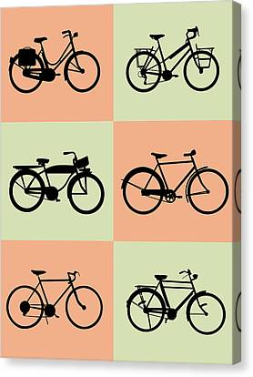 Inspirational Canvas Print - Bicycle Poster by Naxart Studio