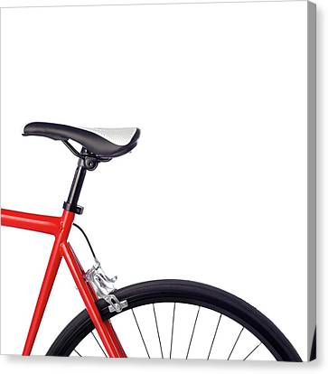 Bicycle Saddle Canvas Print