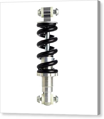 Bicycle Spring Suspension Canvas Print by Science Photo Library