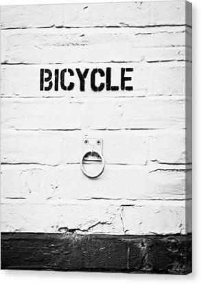 Bicycle Canvas Print by Tom Gowanlock