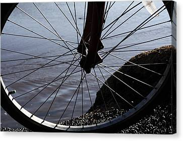 Bicycle Wheel  Canvas Print