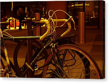 Bicyclette Canvas Print by BandC  Photography