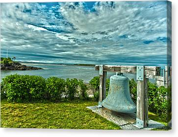 Biddeford Pool Bell Canvas Print