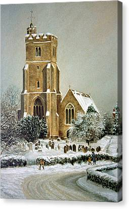 Biddenden Church Canvas Print by Rosemary Colyer