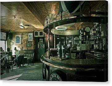 Biddy Mulligans Pub. Edinburgh. Scotland Canvas Print by Jenny Rainbow