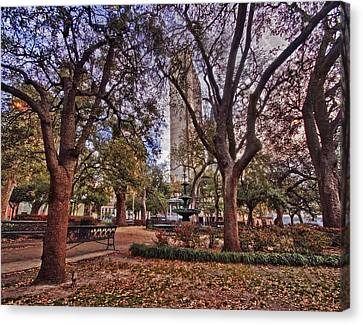 Bienville Spring Canvas Print by Michael Thomas