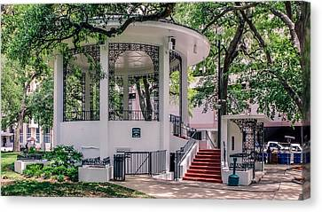 Bienville Square Canvas Print by Rob Sellers