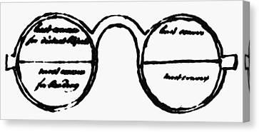 Bifocals, 1760s Canvas Print