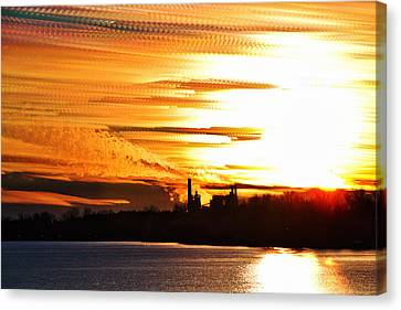 Big Ball Of Fire Canvas Print by Matt Molloy