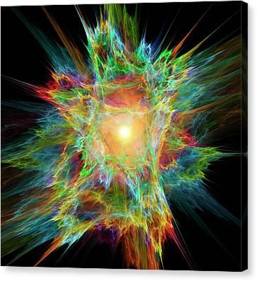 Big Bang Conceptual Artwork Canvas Print by David Parker