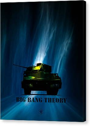 Big Bang Theory Canvas Print by Bob Orsillo