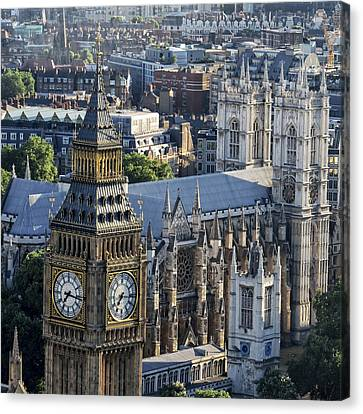 Big Ben And Westminster Canvas Print