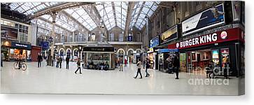 Charing Cross Station Panorama Canvas Print