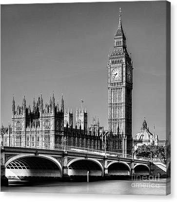 Big Ben Canvas Print by John Farnan