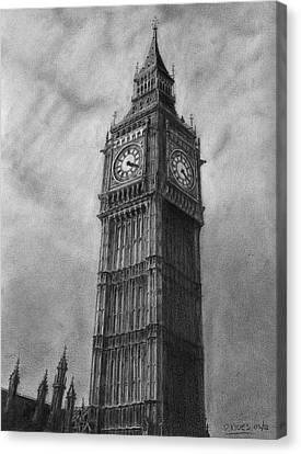 Big Ben London Canvas Print