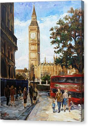Big Ben - London Canvas Print by Irek Szelag