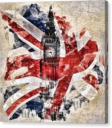 Beauty Mark Canvas Print - Big Ben by Mo T