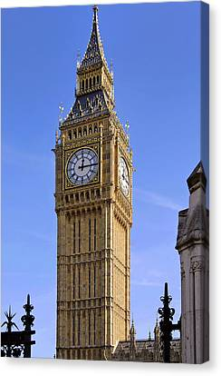 Canvas Print featuring the photograph Big Ben by Stephen Anderson