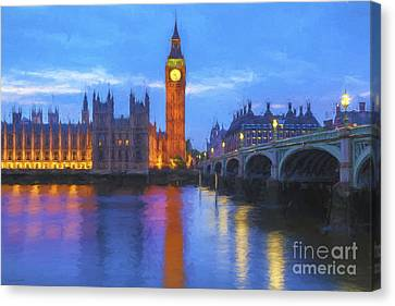 Big Ben Canvas Print - Big Ben by Veikko Suikkanen