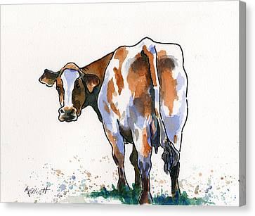 Critter Canvas Print - Big Bertha by Marsha Elliott