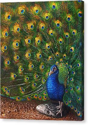 Big Blue Canvas Print by Cara Bevan