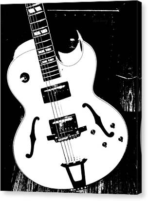 Big Ol Gibson Canvas Print by Chris Berry