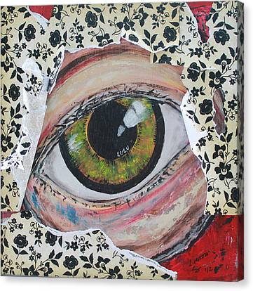 Big Brother Canvas Print by Lucy Matta