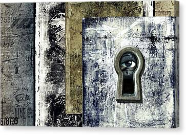 Big Brother Watching You Canvas Print by Diuno Ashlee
