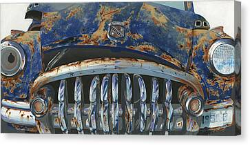 Big Buxom Buick Canvas Print by John Wyckoff
