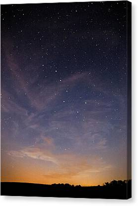 Astronomy Canvas Print - Big Dipper by Davorin Mance