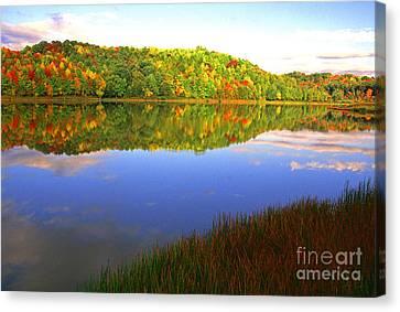 Big Ditch Lake West Virginia Canvas Print by Thomas R Fletcher