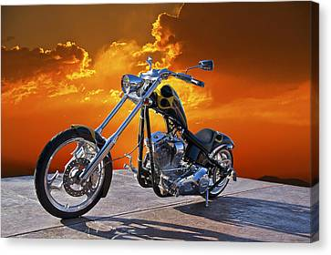 Big Dog Studio 4 Canvas Print by Dave Koontz