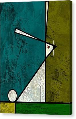 Big Ears Canvas Print by Kenneth North