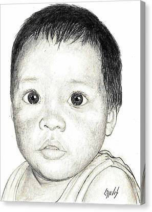 Big Eyes Canvas Print by Lew Davis