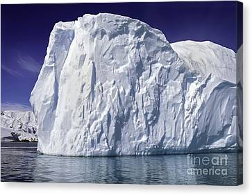 Big Iceberg Canvas Print by Boon Mee