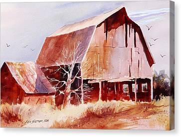 Big Jim's Barn Canvas Print by John  Svenson