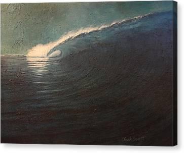 Big Left Canvas Print