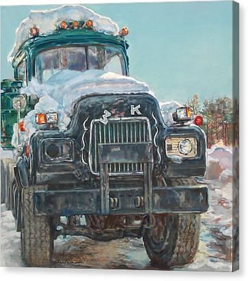 Big Mack Canvas Print by Sharon Jordan Bahosh