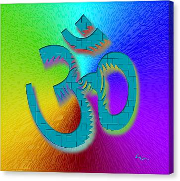 Big Ohm Canvas Print