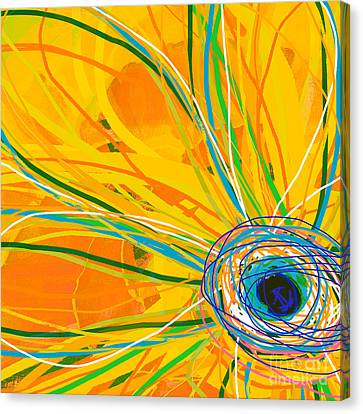 Big Pop Floral I Canvas Print by Ricki Mountain